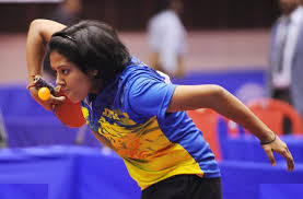 Best Table Tennis Player Ankita Das Inspired By Rosol U0027s Heroics