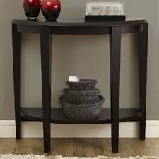 Sofa And End Tables by Half Circle Console U0026 Sofa Tables You U0027ll Love Wayfair