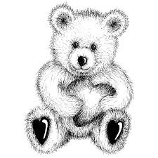 87 macik images teddy bears draw clip art