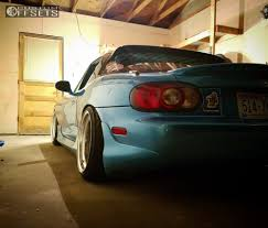 mazda miata stance wheel offset 2003 mazda mx 5 miata flush coilovers