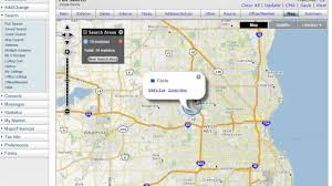 Address Map How To Search In Radius Of An Address On A Map Youtube