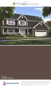 bottom photo sherwin williams homestead brown paint pinterest