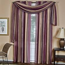 Purple Ombre Curtains Achim Ombre Window Scarf Hayneedle