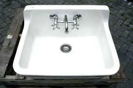 apron sink with drainboard wall mount apron sink cast iron utility sink farmhouse country style