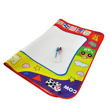 tappeto magico prezzo magico con 2 pennarelli ad acqua divertimento creativo per bambino