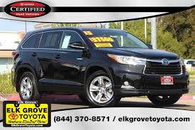 certified toyota highlander certified pre owned 2015 toyota highlander std 4d sport utility in