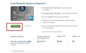 apply for a usaa cash rewards american express credit card