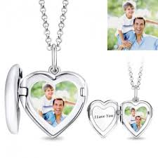 Personalized Photo Necklace Photo Engraved Necklace