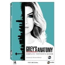 own season 13 of grey s anatomy on dvd grey s anatomy