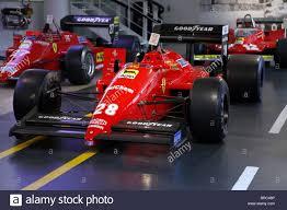 museum maranello f1 87 racing car 1987 galleria museum maranello italy