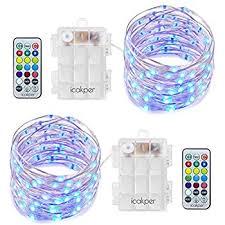 homestarry led string lights battery powered multi