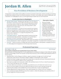 cio resume professional technology executive resume template it executive
