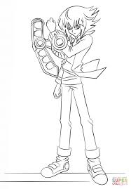 yugioh gx coloring page free download