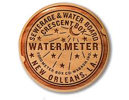 new orleans water meter new orleans water meter woodblock neutral ground