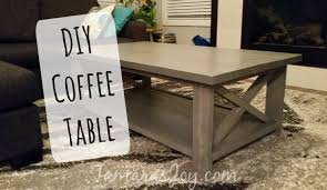 i built my own modern diy coffee table tamara u0027s joy