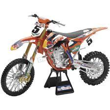 model motocross bikes new ray toys redbull ktm ryan dungey 1 6 scale die cast model