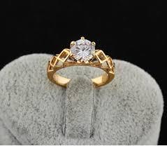 big ladies rings images 2018 2015 new 18k gold plated big diamond wedding rings for women jpg