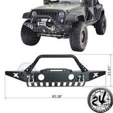 ebay jeep wrangler accessories rock crawler stubby front bumper fog light fit 07 17 jeep jk