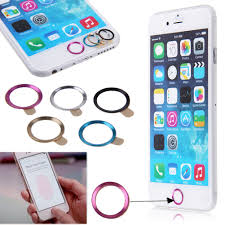 camera lens cover home button ring charging anti dust plug for