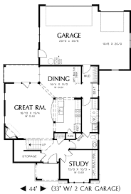 narrow lot house plans with rear garage rear entry garage and two exterior choices 69204am architectural