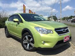 subaru xv green 2014 subaru impreza xv hybrid 2 0i l eyesight used car for sale