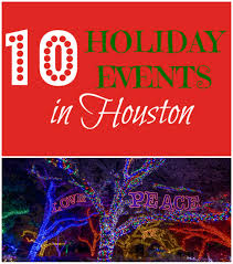 Zoo Lights In Houston by Top 10 Holiday Events In Houston Texas Christmas 2016