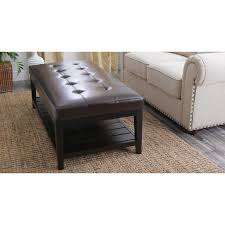 Ottoman Circle Coffee Table Ottomans For Sale Leather Cocktail