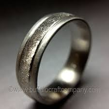 palladium wedding ring men s wedding bands buffalo craft company llc