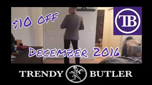 Mens Fashion Subscription Box Trendy Butler Review December 2016 Monthly Subscription Box