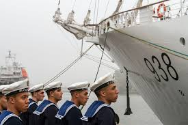 Algerian Flag El Mellah Delivered With Algerian Flag Hoisted Poland At Sea