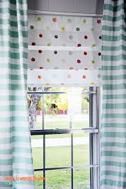 No Sew Roman Shades How To Make - i should be mopping the floor how to create faux roman shades