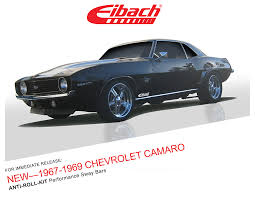 1967 camaro kit product releases 1967 1969 chevrolet camaro anti roll kit