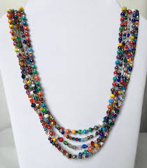 multi color necklace images Multi color necklace fair trade guatemalan jewelry jpeg