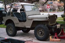 willys jeep lifted kubota turbo v2203 into 1946 willys cj2a