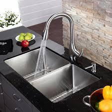 Kraus KHU  Inch Undermount  Double Bowl  Gauge - Kitchen sink undermount