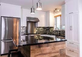 comptoir de cuisine noir comptoir de cuisine contemporain luxe armoires de cuisine