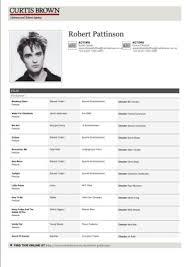 Talent Resume Examples by Download Resume For Actors Haadyaooverbayresort Com