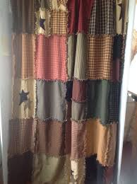Country Shower Curtains For The Bathroom 22 Best Primitive Shower Curtain Images On Pinterest Country
