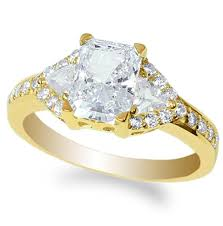 Beautiful Wedding Rings by Radiant Cut Cubic Zirconia Cz Engagement Rings For Women
