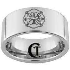 Firefighter Wedding Rings by Fireman U0027s Wedding Band Its A Must Have For Me Wedding Ideas