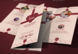 tri fold wedding invitations 18 tri fold wedding invitation templates free premium