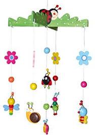 mobile kinderzimmer mobile fische aus holz bunt lackiert ein tolles luftaquarium