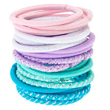 hair ties kids 18 pack pastel elastic hair ties s us