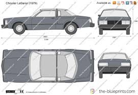 chrysler lebaron the blueprints com vector drawing chrysler lebaron