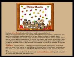 giving thanks smartboard attendance thanksgiving theme