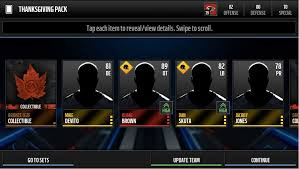 thanksgiving pack opening madden nfl mobile discussion madden
