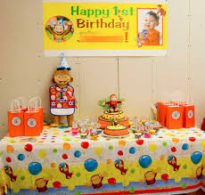 curious george party ideas curious george party decoration ideas decoration image idea