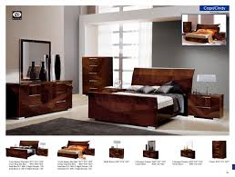 esf furniture capri queen sleigh bed in walnut