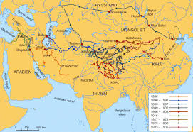 Henry Hudson Route Map by Silk Road Maps Useful Map Of The Ancient Silk Road Routes