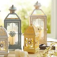 White Lantern Centerpieces by Mini Jeweled Lantern White Home Decor Ideas Pinterest